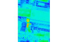 福島原発のサーモグラフィ画像を公開 画像