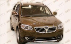 BMW X1公認コピー車?!…中国ブリリアンスから 画像
