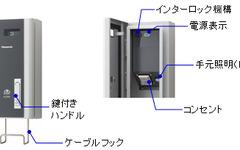 EV・PHV用充電器に壁面取り付けタイプ パナソニック電工 画像