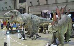 [イベントJAPAN11]実物大の恐竜の出演料 画像