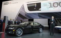 【ニューヨークモーターショー11】アウディ A7スポーツバック…最強の S7 設定へ 画像