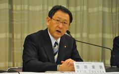 トヨタ豊田社長、「プリウスなどにも非常電源の搭載を検討」 画像