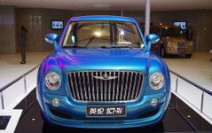 【上海モーターショー11】ロンドンタクシーに市販モデル…「コピー車ではない」 画像
