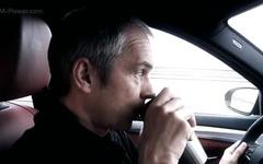 BMW M5 次期型、300km/hオーバーでコーヒーブレイク?[動画] 画像