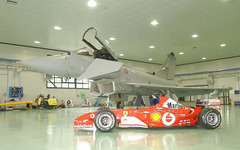 フェラーリF1対ジェット戦闘機、3本勝負! 画像