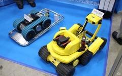 【スマートグリッド展 11】原発への出動を待っていたロボット 画像