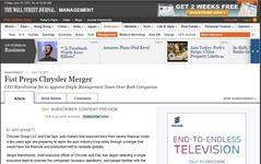 フィアット、クライスラーと合併準備か…米報道 画像