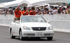 東富士ハイウェイパーク写真蔵…働く車のパレード 画像