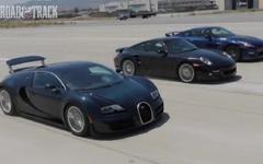 GT-R、911、ヴェイロン が加速競争[動画] 画像