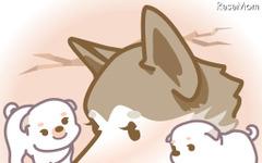 [e絵本]山古志村のマリと三匹の子犬 画像