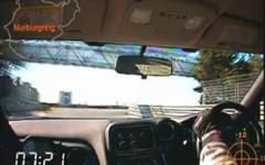 日産 GT-R の2012年型、ニュルアタック[動画] 画像