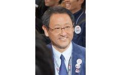 【東京オートサロン12】豊田社長がサプライズで登場 画像