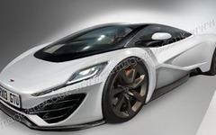 マクラーレン F1 後継車は P12 ?!…最高速は420km/hか 画像