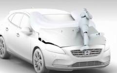 【ジュネーブモーターショー12】ボルボ V40 新型、量産車世界初の歩行者用エアバッグ[動画] 画像