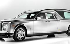 世界一豪華な霊柩車…ベースはロールスロイス ファントム 画像
