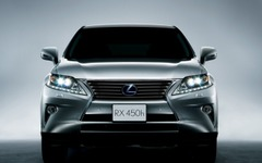 【レクサス RX 改良新型】トヨタ大原常務「スピンドルグリルの全面導入は来年半ばにも」 画像