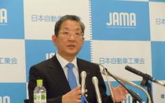 志賀自工会会長、一番の印象は「大震災からの復興」 画像