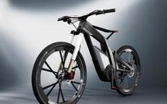 アウディから電動アシスト自転車コンセプト、e-bike…最高速は80km/h 画像