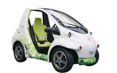 【人とくるまのテクノロジー12】今夏発売予定、超小型EVコンセプト展示…トヨタ車体 画像