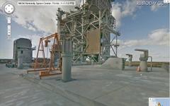 Googleストリートビューに NASA ケネディ宇宙センター 画像