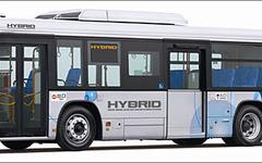 いすゞ、大型路線バス エルガハイブリッド を発売 画像