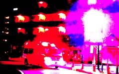 定員外乗車の軽乗用車、乗用車と正面衝突 画像