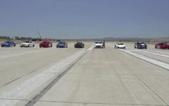 日産 GT-R にスバル BRZ 、世界の最新スポーツカー9台が加速競争[動画] 画像