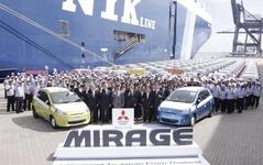 8月の三菱自動車のタイ新車販売、77.1%増…ミラージュ 新型効果 画像
