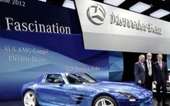 【パリモーターショー12】メルセデス SLS AMG にスーパーEV…価格は4000万円超 画像