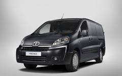 トヨタの欧州商用車、プロエース 発表…PSAプジョーシトロエンのOEM 画像