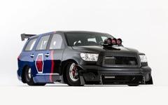 【SEMAショー12】トヨタのフルサイズSUV、セコイアにドラッグレーサー…0‐400m加速は9秒台 画像