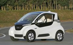 【ホンダミーティング12】超小型EV マイクロコミューターの試作車を公開…2013年に実証実験  画像