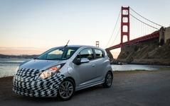 【ロサンゼルスモーターショー12】GM、シボレー スパーク EV 発表…急速充電「コンボ」初採用 画像