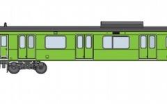 JR東日本、みどりの山手線ラッピングトレインを運行 画像