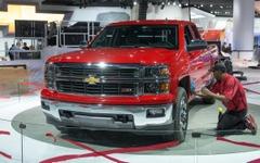 【デトロイトモーターショー13】シボレー シルバラード、GMの米国最量販車が新型に 画像
