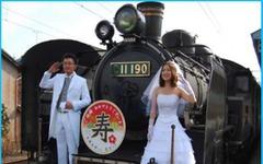 日本旅行と大井川鐵道「SLブライダルトレイン・パッケージプラン」発売 画像