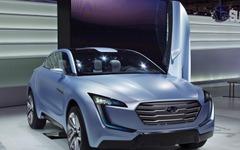 スバル ヴィジヴコンセプト…13年発売のHV車に続く次世代の方向性 画像