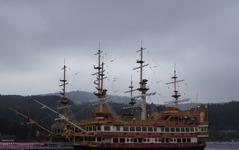 箱根 芦ノ湖に新船 ロワイヤルII が就航開始…箱根海賊船 画像