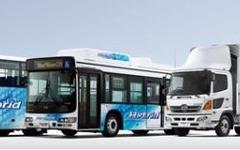 日野自動車、ハイブリッドトラック・バスの累計販売台数が1万台突破…商用車メーカー初 画像