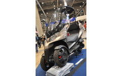 【東京モーターサイクルショー13】アディバジャパン、ニューコンセプト3輪スクーター AD treを発表 画像