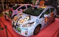 【アニメコンテンツエキスポ13】トヨタがアニメ公式痛車を販売…ガールズ&パンツァーの(C)付き 画像