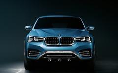 【上海モーターショー13】BMW X4コンセプト、公式発表…市販版の X4 を示唆 画像