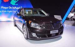 【ニューヨークモーターショー13】ヒュンダイの最上級車、エクウス に2014年型…レクサス LS を意識 画像