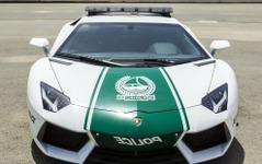 ランボルギーニ アヴェンタドールにポリスカー…中東ドバイに配備完了 画像