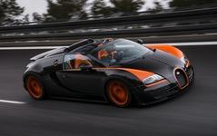 ブガッティ ヴェイロン グランスポーツ、量産オープンカーの世界最高速記録…408.84km/h 画像