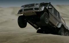 メルセデス Gクラス に市販前提の6輪車…圧倒的な走破性能[動画] 画像