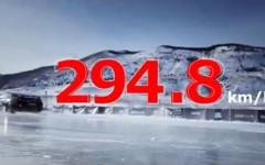 日産 GT-R がロシアの氷上最高速記録…294.8km/h 達成の瞬間[動画] 画像