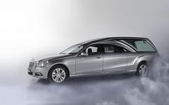 セキュリコ、ベンツ E250 ベースの新型霊柩車を発表 画像