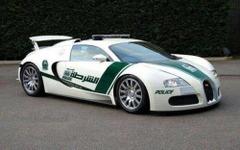 ドバイ警察、こんどはブガッティ ヴェイロン配備決定…世界最速パトカー 画像