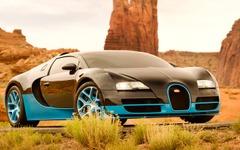ブガッティ ヴェイロンの世界最速オープン…映画『トランスフォーマー4』に出演決定 画像